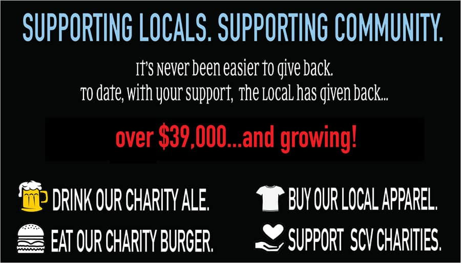 Charity information about supporting the community.
